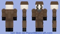 Rorschach Minecraft Skin