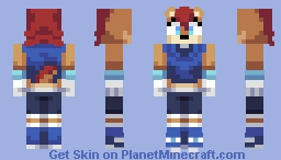 Sally Acorn - Awesome Sonic Series Minecraft Skin
