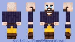 Tiltav the Brave Minecraft Skin