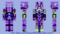 Yui Ikari Minecraft Skin