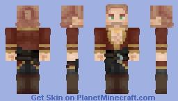 Varric Tethras Inspired Shirt [Dragon Age Inquisition] Minecraft Skin