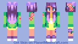 ♡ c o l o r s . e n t r y ♡ Minecraft Skin