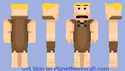 rndnlmtbg | Barney Rubble (The Flintstones) Minecraft Skin