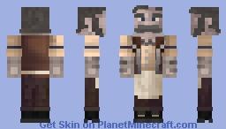 Medieval Bartender Minecraft Skin