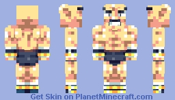 Nappa (Broken Armour) Minecraft Skin
