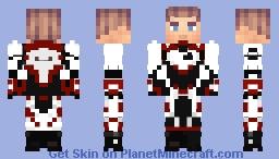 Captain America | Endgame | Quantum Realm Suit Minecraft Skin