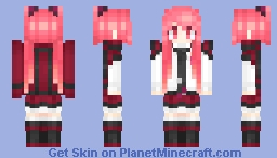 Itsuka Kotori Minecraft Skin