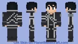 Kirito (Aincrad) - Sword Art Online - By Wolf40013 Minecraft Skin