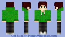 Green Sweater Skin Minecraft Skin