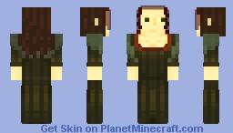 Mona Lisa *pop reel Minecraft Skin