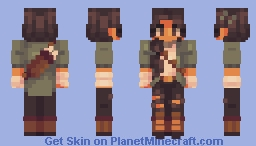 lionhearted [ oc; olive ] Minecraft Skin