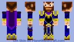 Merlin, Master Wizard Minecraft Skin
