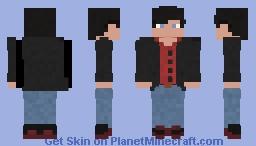 Fix skin of Tim Drake's Citizen Outfit by Rymac99 Minecraft Skin