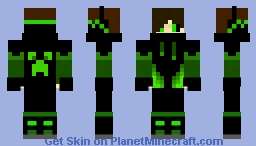 DarkGreen Boy Minecraft Skin
