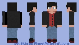 Edit To Tim Drake's Citizen outfit By Rymac99 Minecraft Skin
