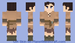 Steve-Peasant Minecraft Skin