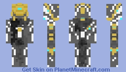 Excalibur Umbra (Warframe) Minecraft Skin