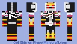 Kamen Rider Zi-O Decade Armor Ryuki Form Minecraft Skin