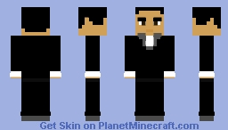 Batman: The Animated Series - Harvey Dent Minecraft Skin