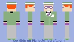 Batman: The Animated Series - The Riddler Minecraft Skin