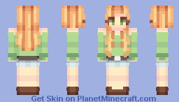 alex but make it fashion Minecraft Skin