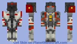 Blitzwing form 🐝Bumblebee movie! Minecraft Skin