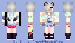 Cute girl skin by Salma_gamz Minecraft Skin