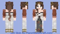 [LotC] Embroidered Eastern-Inspo Dress Minecraft Skin
