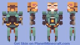 Overwatch - Wrecking Ball Minecraft Skin