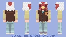 'Jacket' / Richard    Hotline Miami    Part One; Phonecalls    17th Popreel    Alt in Desc Minecraft Skin