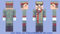 Joseph Stalin, Soviet Hero and Supporter of Marxism-Leninism ☭ Minecraft Skin