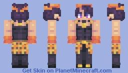 Narancia Ghirga | Vento Aureo (Alt. Colors in Desc.) Minecraft Skin
