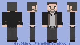 The Walking Dead Negan 9x09 Minecraft Skin