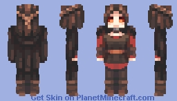 Serana || Skyrim Minecraft Skin