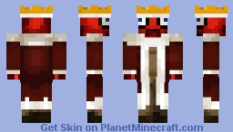 LizterZapZap Replica: MrCrayfish's Skin Minecraft Skin