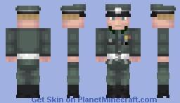 Obergruppenführer Reinhard Heydrich Minecraft Skin