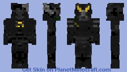 Fallout 2 - Enclave Advanced MkII Power Armor Minecraft Skin
