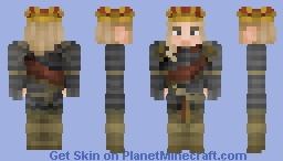 Charles II Hapsburg, King of Spain Minecraft Skin