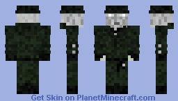 Mr. X Tyrant (READ DESC.) Minecraft Skin