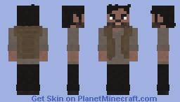 The Walking Dead - Siddiq 9x01 Minecraft Skin