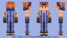 Squalo | Vento Aureo Minecraft Skin