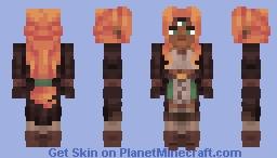 witch oc (art in desc) Minecraft Skin