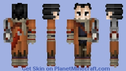 Sekiro Shadows Die Twice / One armed wolf Minecraft Skin