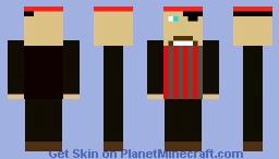 Pirate Minecraft Skin