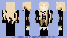 {ℭ𝔞𝔰𝔱𝔩𝔢𝔳𝔞𝔫𝔦𝔞 - REMAKE} Adrian Fahrenheit Țepeș / Alucard Minecraft Skin