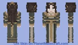 Green Formal Dress - Amelia Minecraft Skin