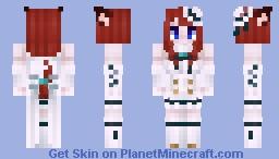 Cat girl FF XIV Minecraft Skin