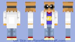 rndnlmtbg | Dr. Flug - Villainous ~Diff Shade~ Minecraft Skin