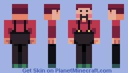 Earthbound Apple Kid Minecraft Skin