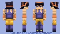Narancia Ghirga | Vento Aureo Minecraft Skin